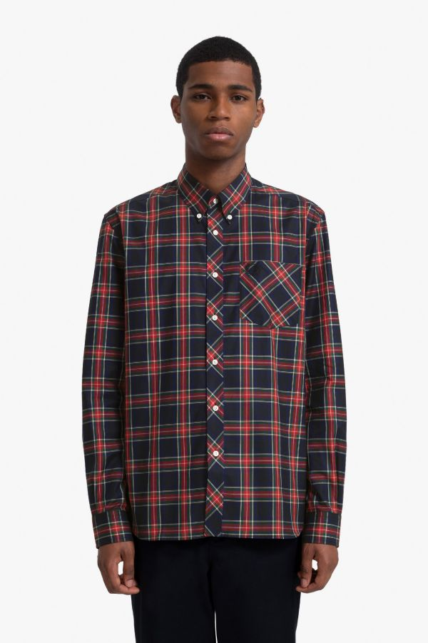 Made In England Camicia Tartan