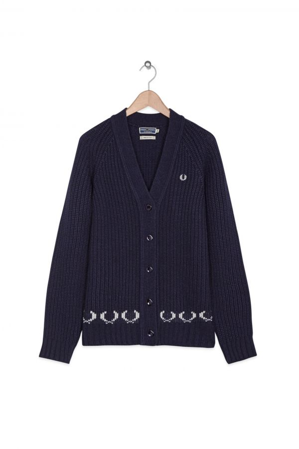 Laurel Wreath Hem Cardigan
