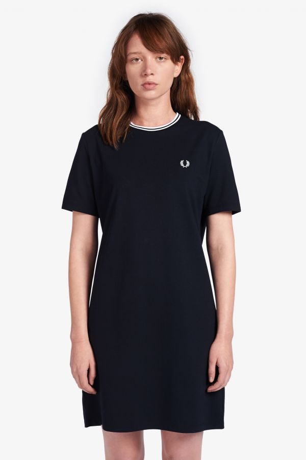Twin Tipped Piqué T-Shirt Dress
