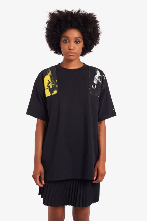 Raf Simons Printed Panel T-Shirt