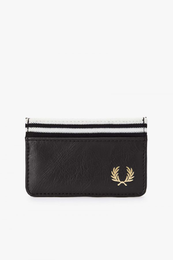 Flat Knit Tipped Card Holder