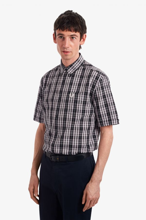 Seersucker Check Shirt