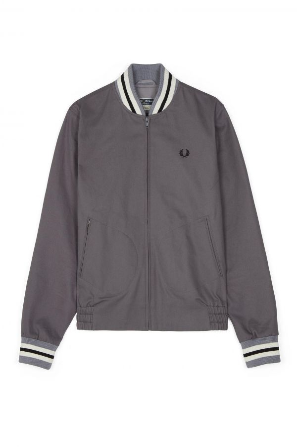 Originale Tennis-Bomberjacke aus der Reissues-Kollektion. Made in England.