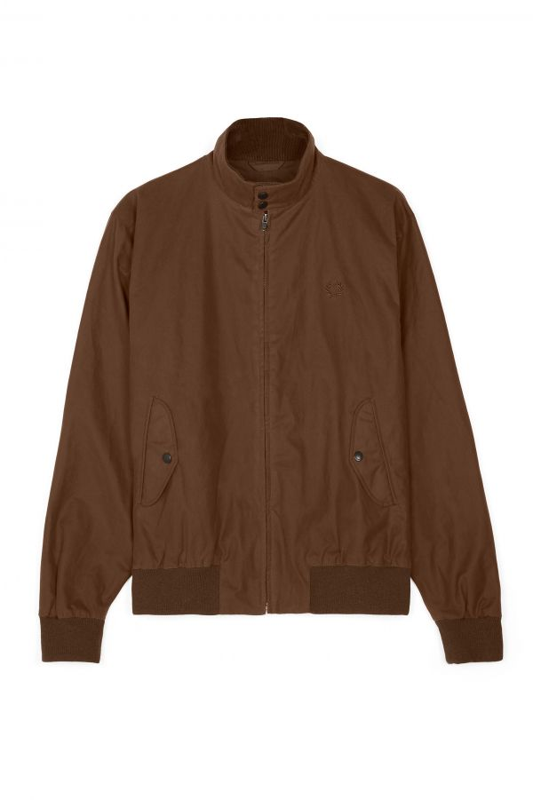 Chaqueta Harrington Encerada Made In England Reissues