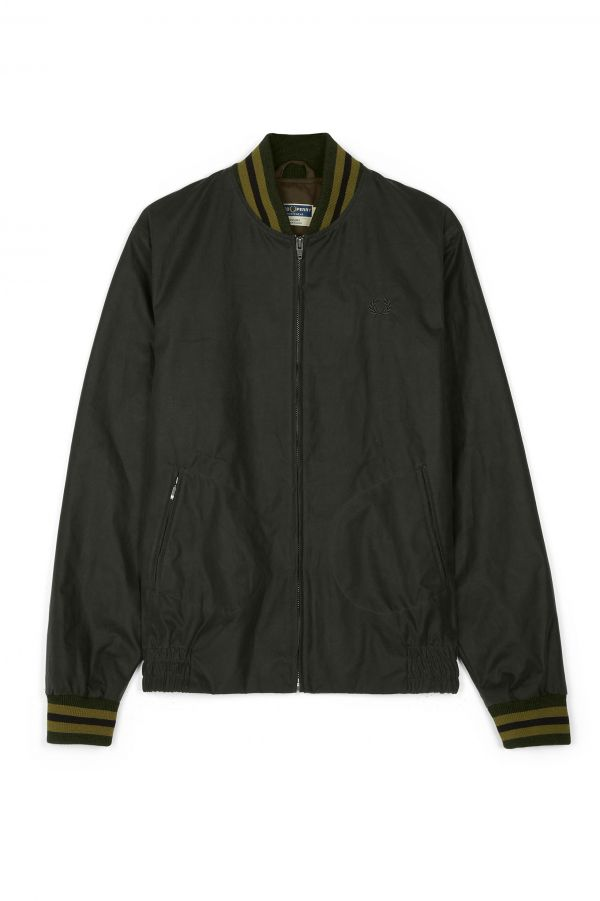 Made in England Waxed Tennis Bomber