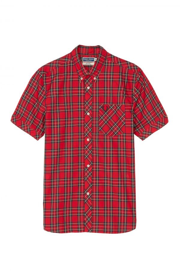 Reissues Short Sleeve Tartan Shirt