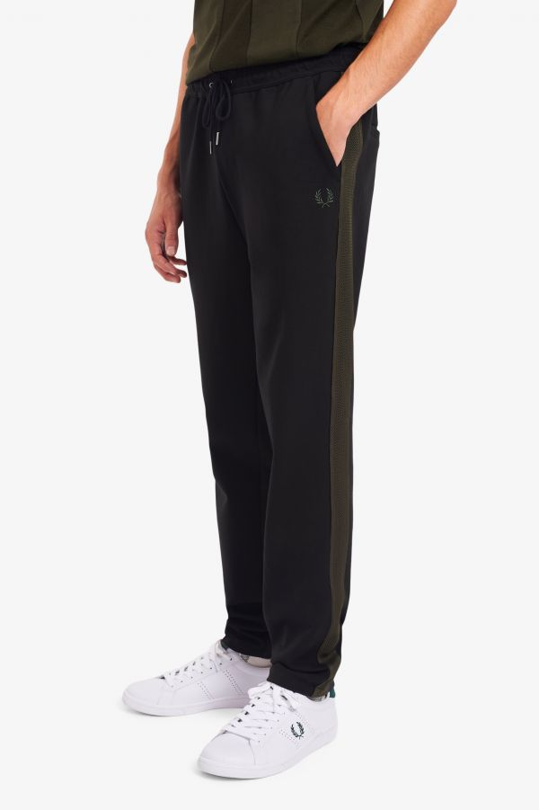 Contrast Tape Track Pants