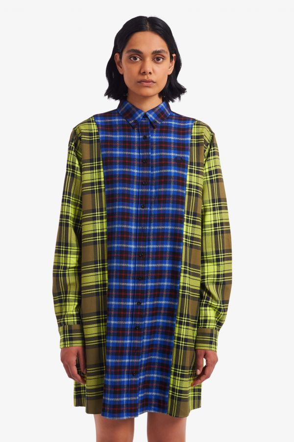 Tartan Shirt Dress