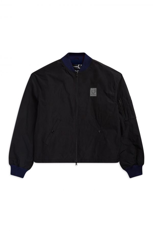 Raf Simons Made In England Padded Bomber Jacket