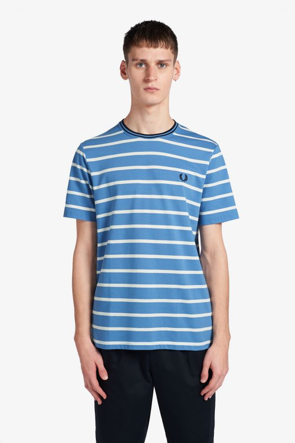 Striped Pique T-Shirt