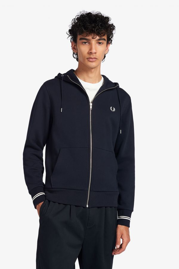 Hooded Zip-Through Sweatshirt