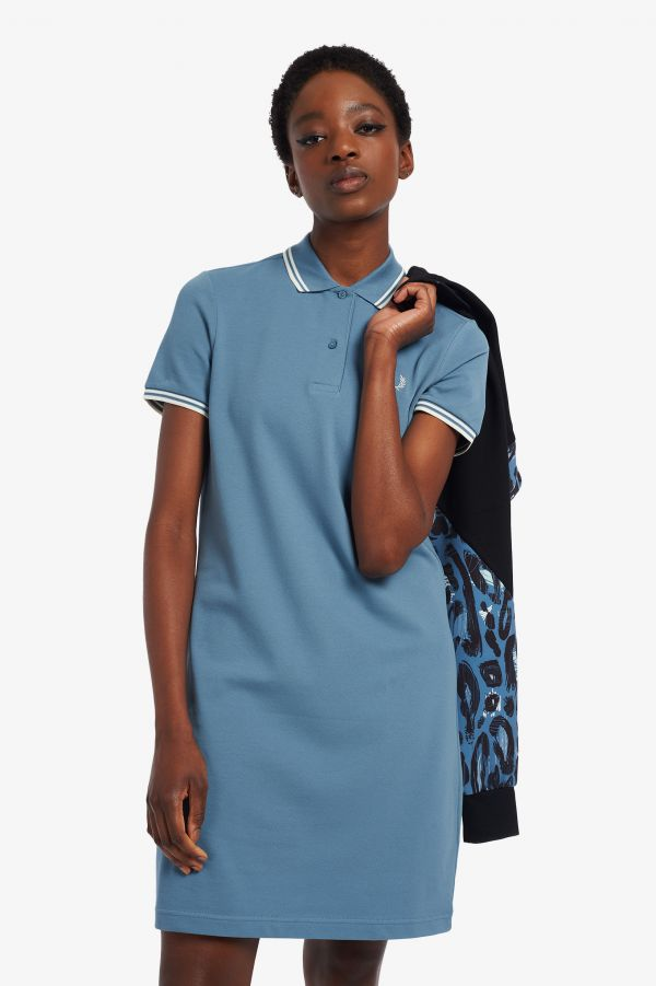 Twin Tipped Fred Perry Shirt Dress