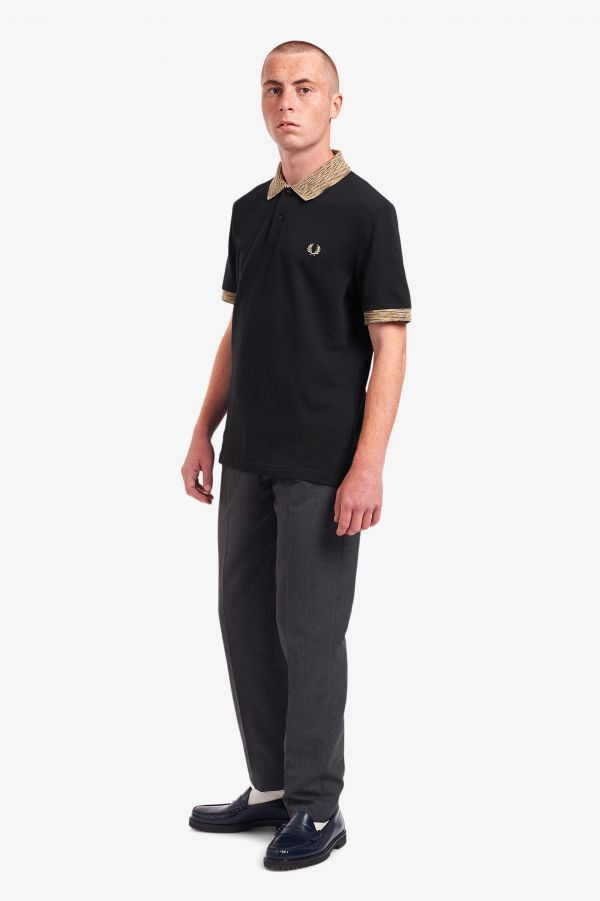 Space Dye Polo Shirt