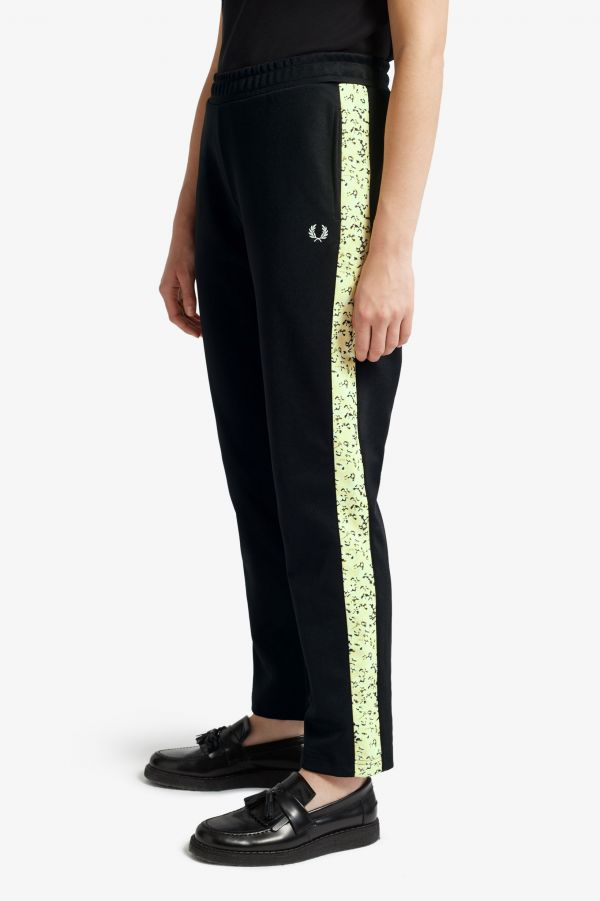 Floral Insert Track Pant