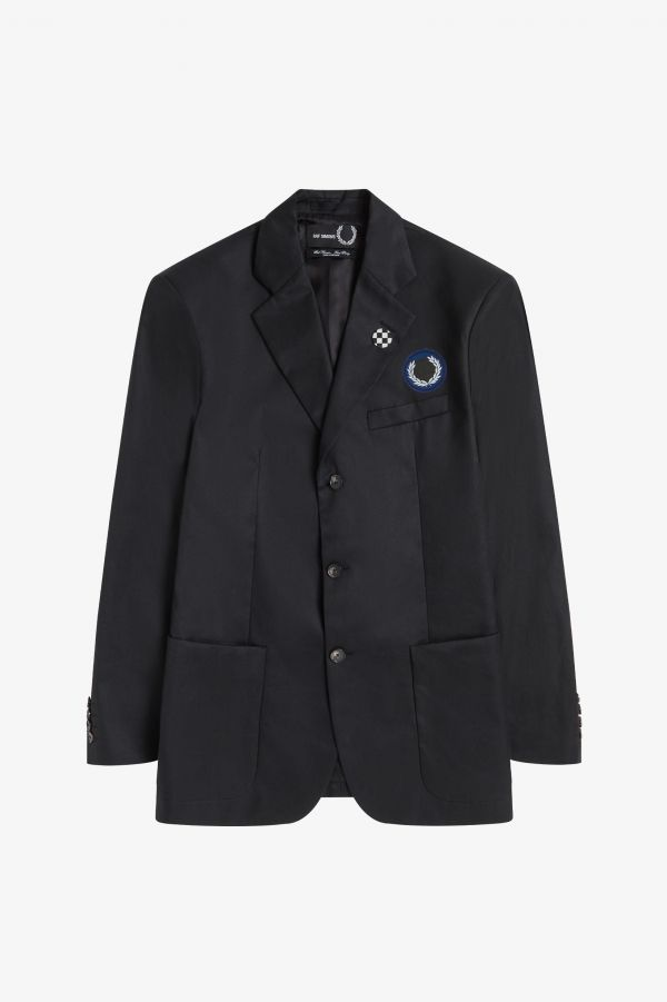 Laurel Wreath Patch Blazer