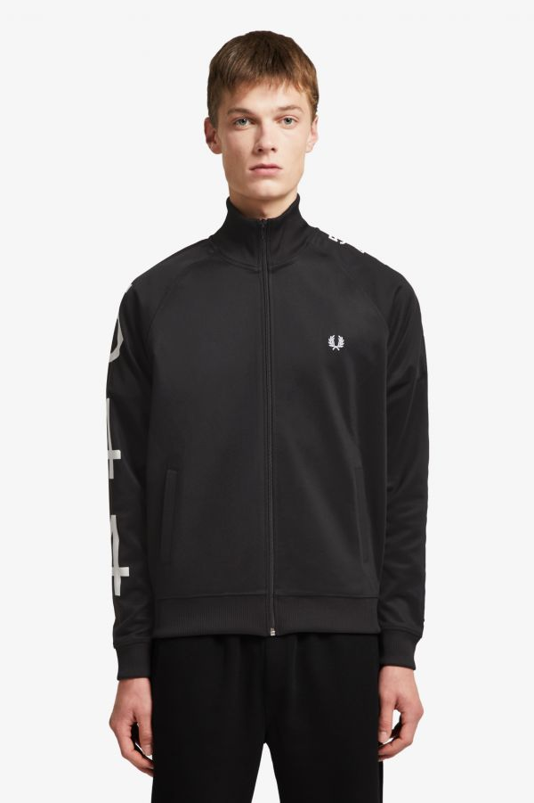 Made Thought Track jacket con fettuccia 5-4-4