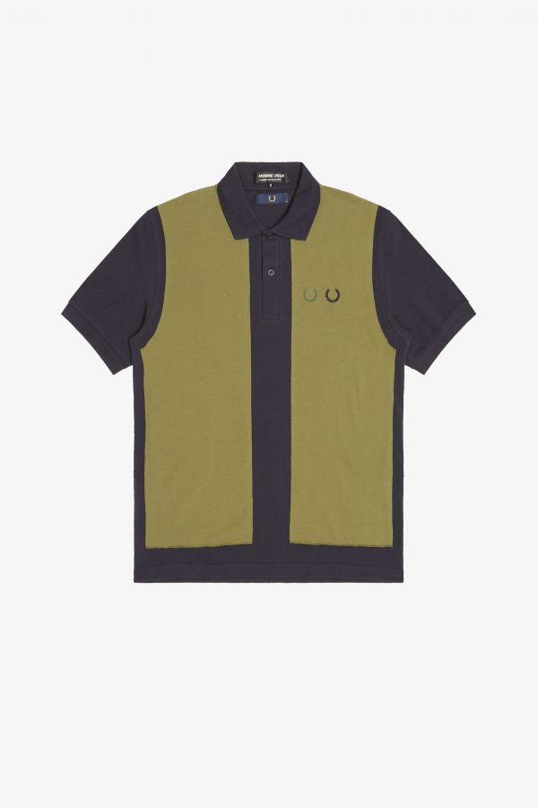 Homme Deux Poloshirt mit Colour Blocking