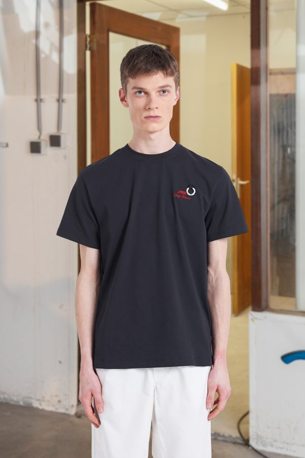 Raf Simons Laurel Wreath T-Shirt mit Details
