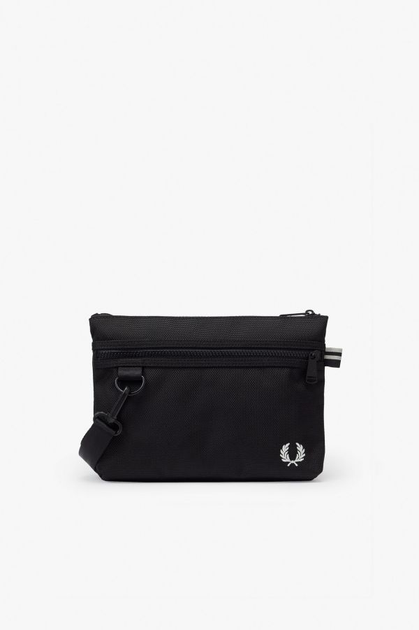 Compact Textured Crossbody Bag