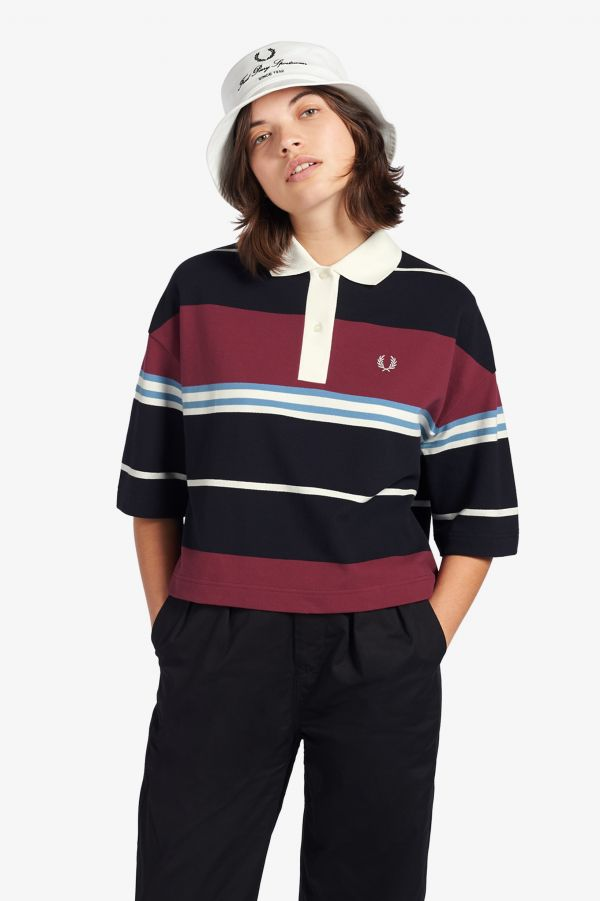 Striped Polo Shirt