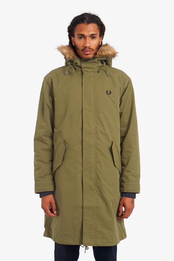 Zip In Liner Parka