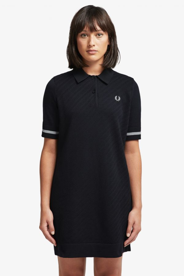 Fred Perry Strickkleid