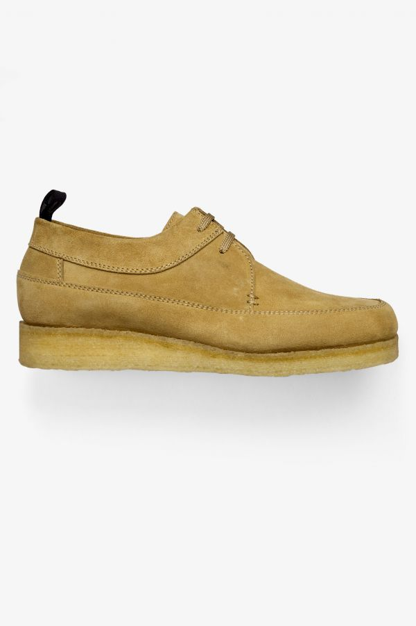 Padmore & Barnes Chaussures Willow basses en nubuck