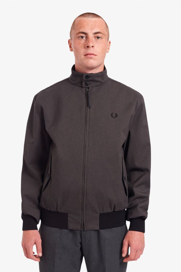 Melierte Harrington-Jacke