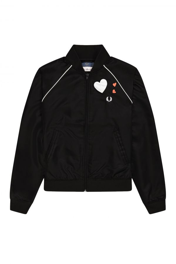 Amy Winehouse Foundation Heart Bomber Jacket