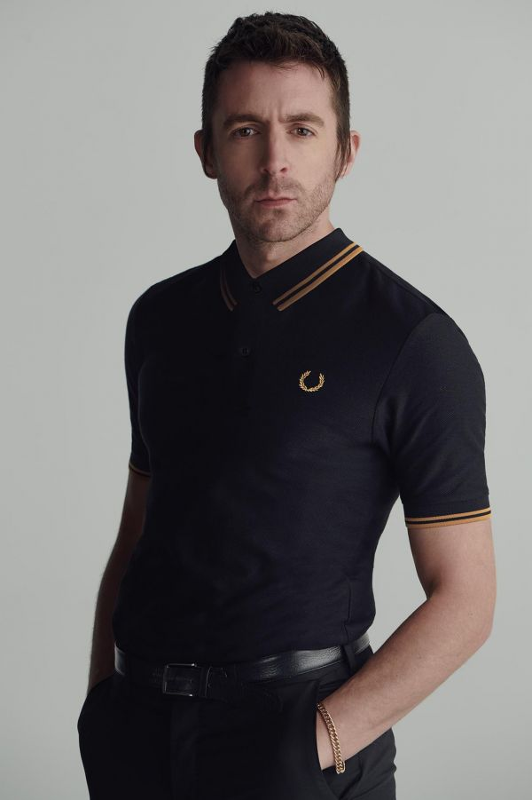 Miles Kane Tipped Polo Shirt