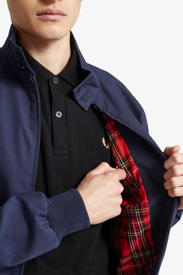 Made In England Chaqueta Harrington hecha en Inglaterra