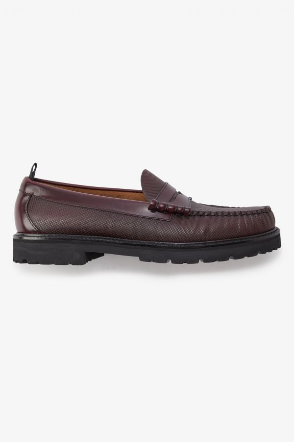 Textured Penny Loafer