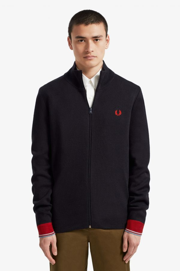 Track Jacket In Maglia