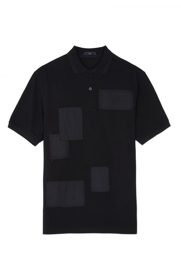 Laurel Wreath Patch Piqué Polo Shirt