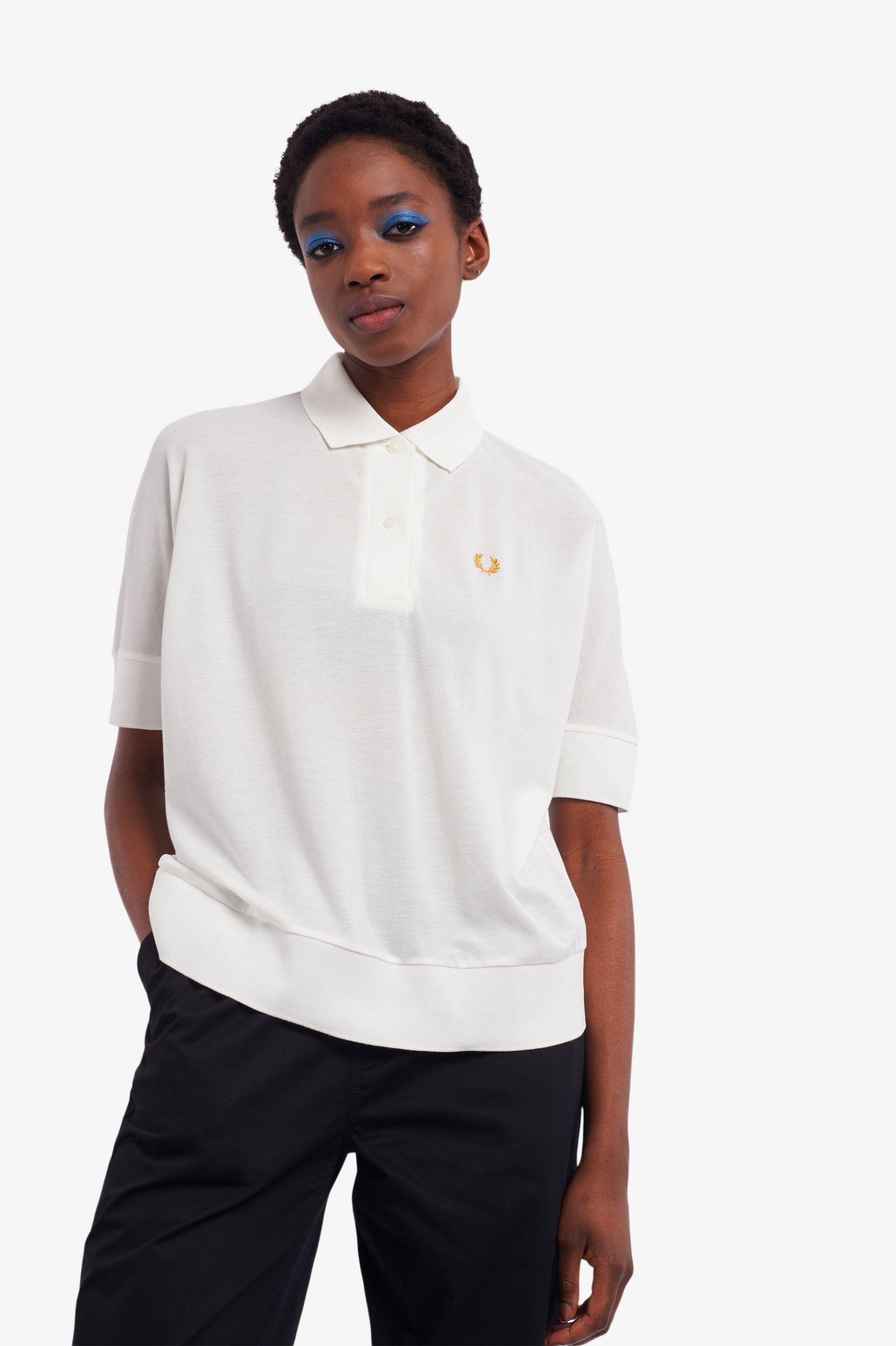 Oversized Polo Shirt