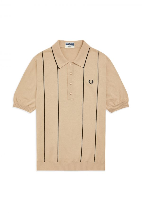 Reissues Vertical Stripe Knitted Shirt