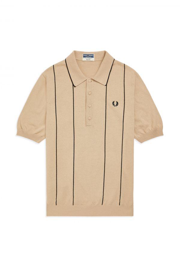 Reissues Camisa de malha com riscas verticais