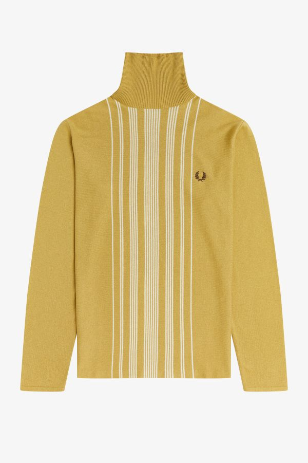 Striped Roll Neck Jumper