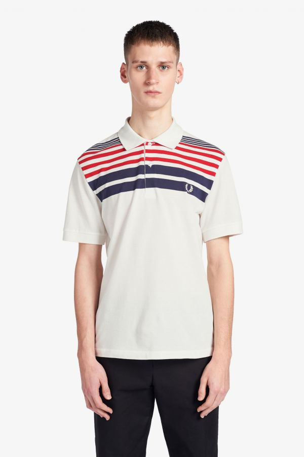 Reissues Striped Piqué Shirt