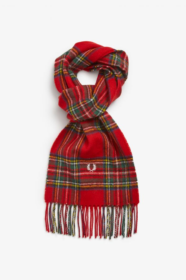 Sciarpa In Tartan Royal Stewart