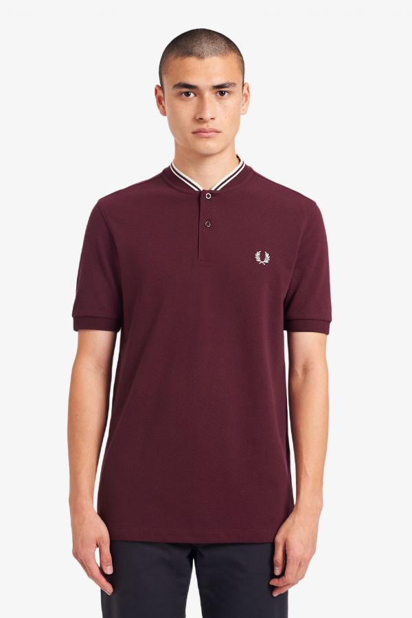 Bomber Neck Polo Shirt