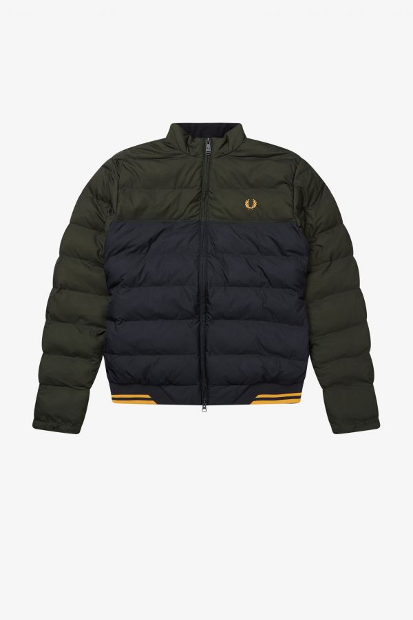 Colour Block Insulated Jacket