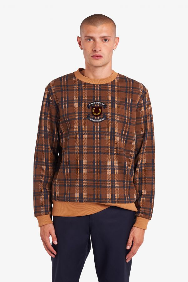 Shield Check Sweatshirt