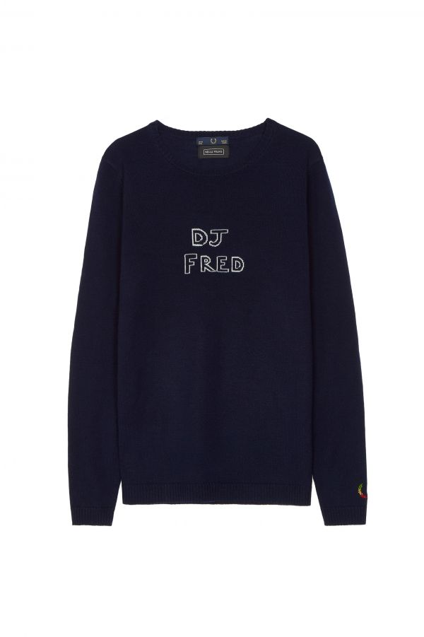 Bella Freud 'DJ Fred' Jumper