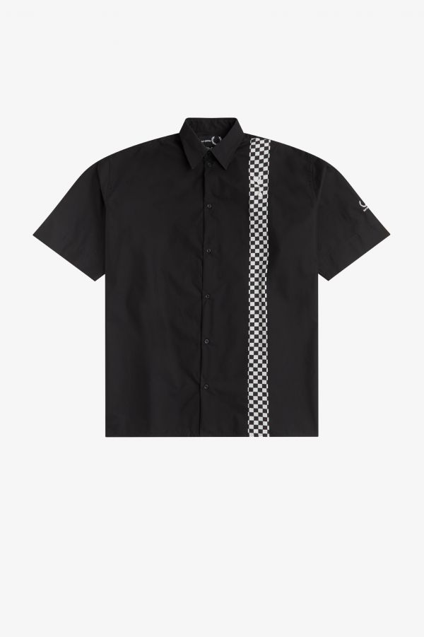 Short Sleeve Chequerboard Shirt