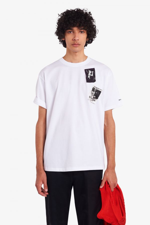 Raf Simons Printed Patch T-Shirt
