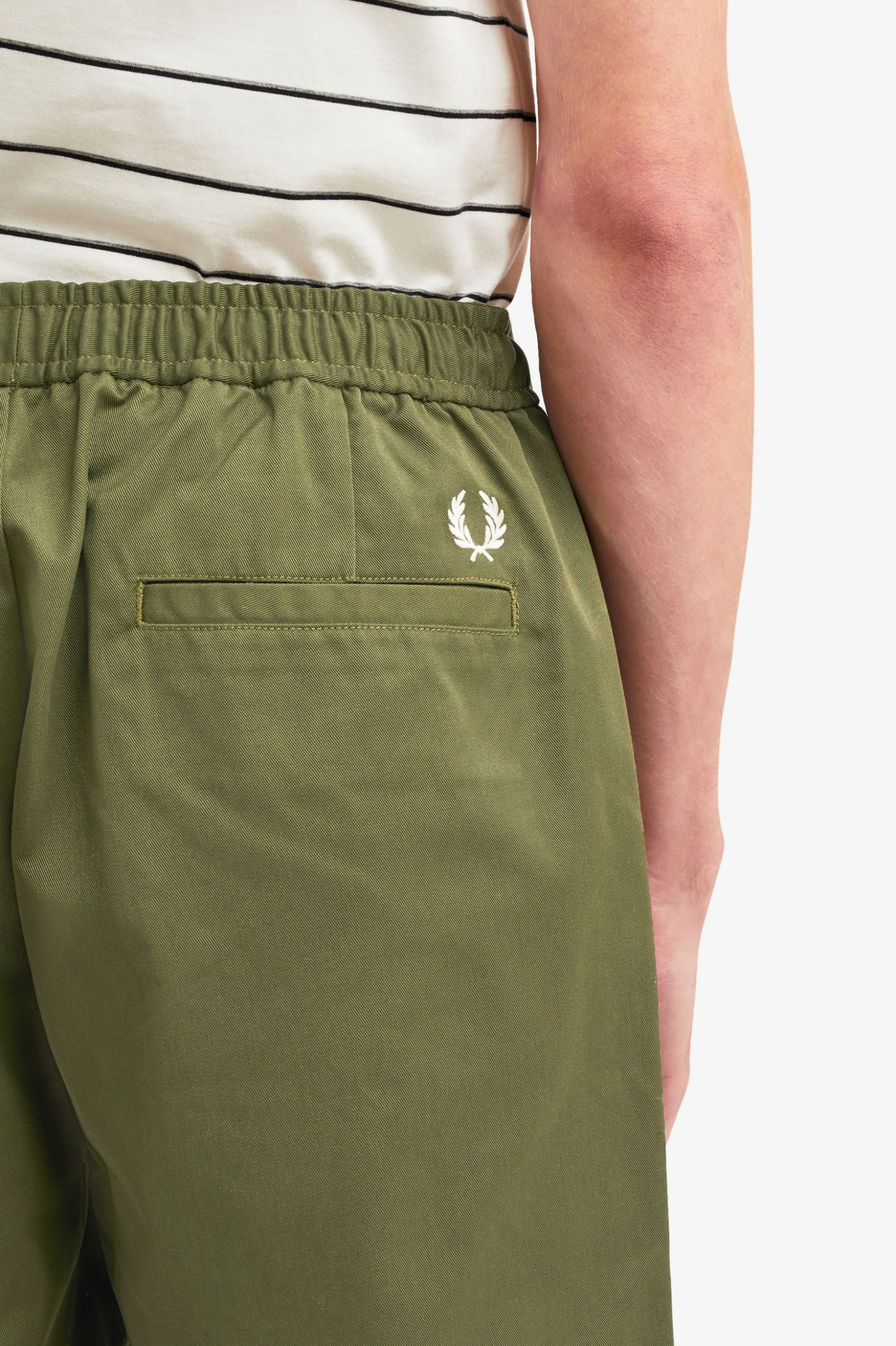 Fred Perry Mens Sharp Twill Short