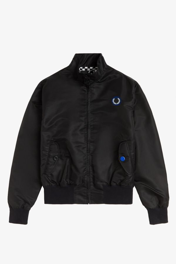 Laurel Wreath Patch Harrington Jacket