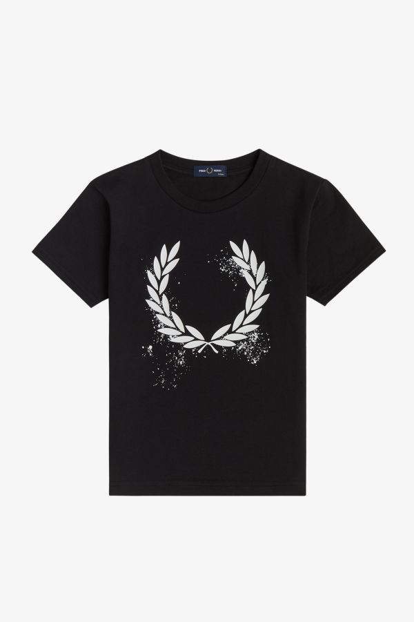 Graphic Laurel Wreath T-Shirt