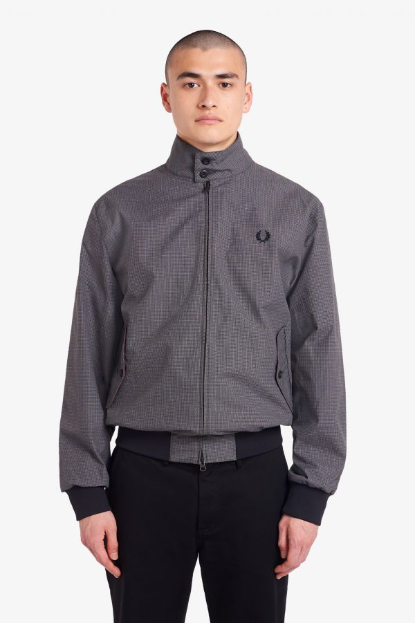 Blouson Harrington en jacquard